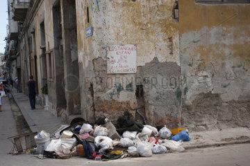 Muell in Havanna Centro