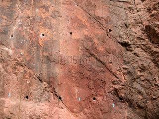 Porphyrbruch  saechsischer marmor