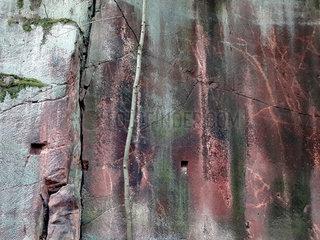 Porphyrbruch  saechsicher Marmor