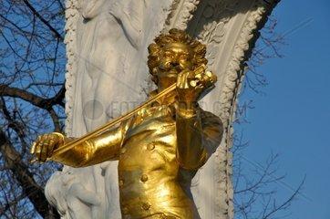 Johann Strauss Denkmal im Wiener Stadtpark
