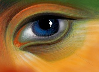 Auge sehen schauen