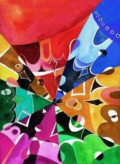 Farbenpracht Fantasiewelt