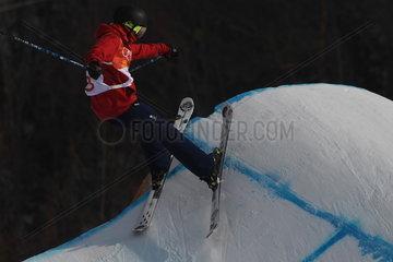 (SP)OLY-SOUTH KOREA-PYEONGCHANG-FREESTYLE SKIING-MEN'S SKI SLOPESTYLE