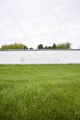 Germany  Berlin  Berlin Wall (back side of the East Side Gallery)