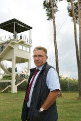 Rasdorf  Deutschland  Volker Bausch  Direktor der Point Alpha Stiftung