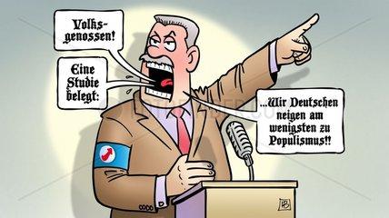 Deutsche und Populismus