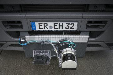 Elektromobilitaet  Oberleitungs-LKW
