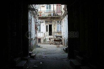 Hinterhof in Bukarest