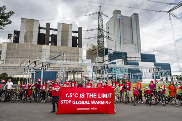 Tour en rouge - Greenpeace Koeln