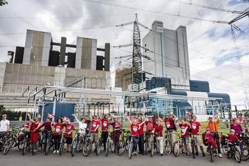 Tour en rouge - Greenpeace Koeln