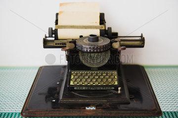 Antique typewriter