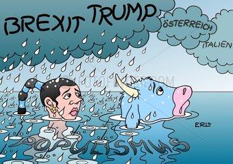 Oesterreich Italien Brexit Trump Populismus EU