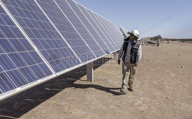 Erzeugung von Solarenergie in Chile