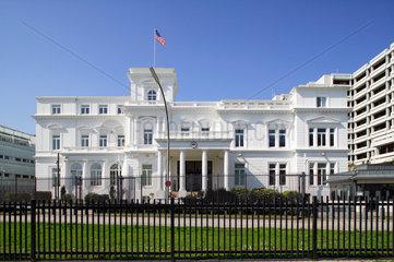 Hamburg  Deutschland  Konsulat der Vereinigten Staaten von Amerika an der Alster