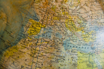 Globe  close-up  cropped