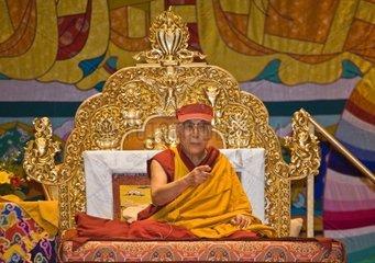 The 14th DALAI LAMA of Tibet teaches Buddhism sponsored by the TIBETAN MONGOLIAN CULTURAL CENTER