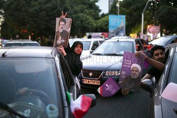 IRAN-TEHRAN-PRESIDENTIAL ELECTION-STREET CAMPAIGNS