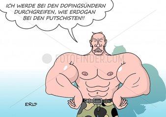 Russland Doping Durchgreifen Putin