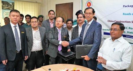 BANGLADESH-DHAKA-CHINA-ROAD IMPROVEMENT-CONTRACT