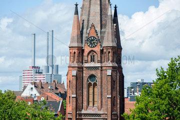 Hannover  Deutschland  Erloeserkirche in Hannover Linden-Sued