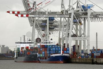 Hamburg  Containerhafen Hamburg