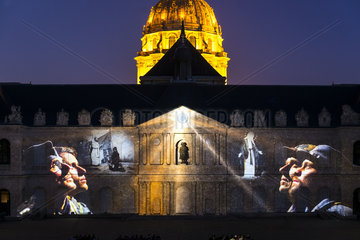 FRANCE - PARIS - INVALIDES NIGHT SHOW