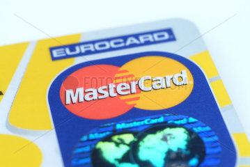 Details einer MasterCard