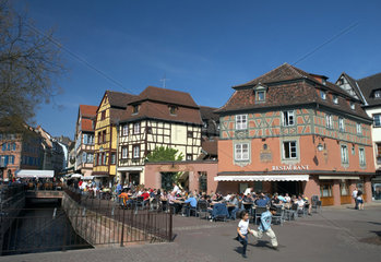 Colmar  Place dAncienne Douane in der Altstadt von Colmar
