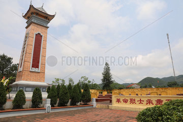 VIETNAM-THAI NGUYEN-CHINESE MARTYRS-TOMB SWEEPING