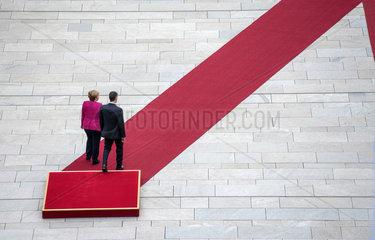 Merkel + Sanchez
