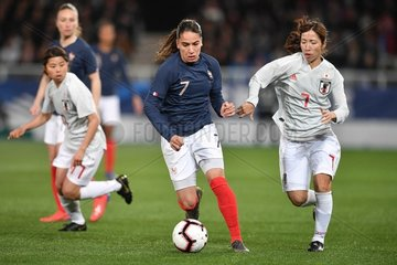 (SP)FRANCE-AUXERRE-FOOTBALL-FRANCE VS JAPAN