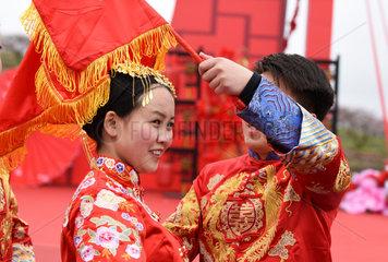 CHINA-GUIZHOU-SHIQIAN-GROUP WEDDING (CN)