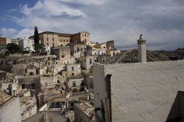 Stadtviertel Sasso Barisano in Matera