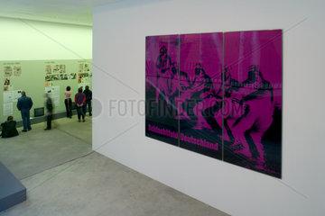 Berlin  RAF Ausstellung in den Kunstwerken