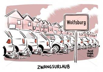 Nach Machtkampf : VW einigt sich mit Zulieferern Zwangsurlaub