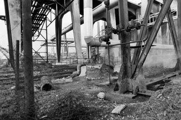Bitterfeld  DDR  Industriegelaende