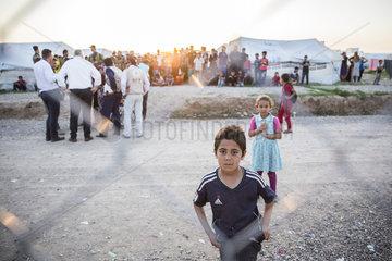 Fluechtlingskinder im Irak