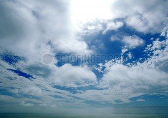 Aermelkanal England Wolken Wasser Meer