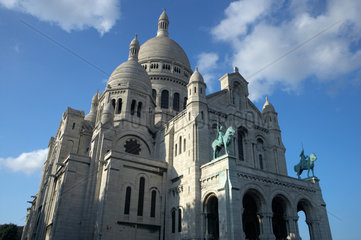 Paris  die Basilika Sacre-Coeur