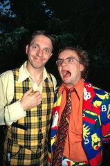 Die Doofen - Olli Dittrich & Wigald Boning Backstage - exklusiv