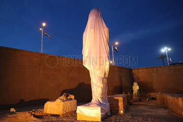 EGYPT-SOHAG-RAMSES II STATUE-REVIVAL