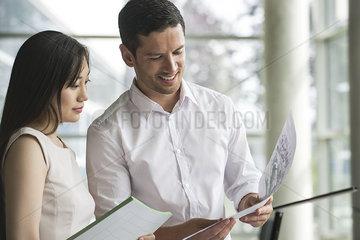 Business associates sharing ideas