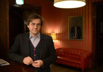 Berlin  Deutschland  Joachim Rissmann  Inhaber des Hotel Bogota