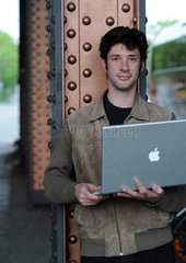 Berlin  Deutschland  Internetaktivist David Cohn