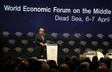JORDAN-DEAD SEA-WORLD ECONOMIC FORUM-OPENING