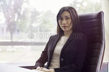 Businesswoman in office  portrait