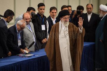 IRAN-TEHRAN-PRESIDENTIAL ELECTION-SUPREME LEADER