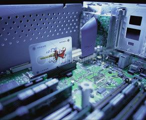 Hamburg  Deutschland  Symbolfoto Computeraufruestung