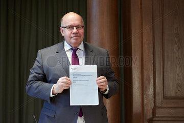 Berlin  Deutschland - Bundeswirtschaftsminister Peter Altmaier.