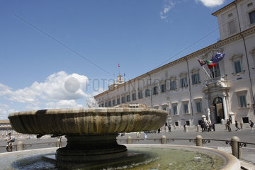 Piazza del Quirinale. Quirinalespalast